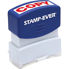 Stamp Ever Pre inked Red Copy