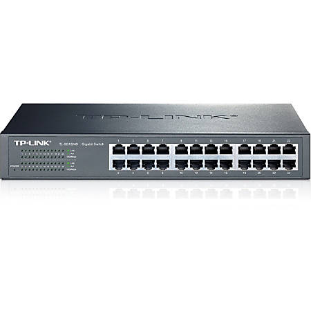 TP-LINK® 24-Port Gigabit Desktop/Rackmount Switch, TL-SG1024D