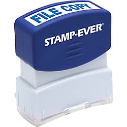 Stamp Ever Pre inked File Copy