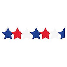 Hygloss Patriotic Stars Border Strips 12