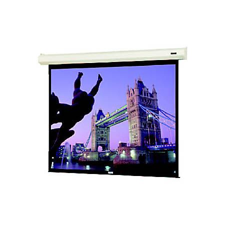 "Da-Lite Cosmopolitan 40807E 153"" Electric Projection Screen - Yes - 1:1 - Matte White - 108"" x 108"" - Wall Mount, Ceiling Mount"