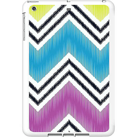 OTM iPad Air White Glossy Case Bold Collection, Chartreuse - For iPad Air - Chartreuse - White - Glossy