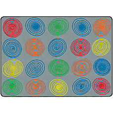 Flagship Carpets Circles Rug Rectangle 6