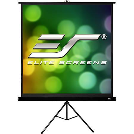 "Elite Screens Tripod Pro Series - 85-INCH 1:1, Adjustable Multi Aspect Ratio Portable Indoor Outdoor Projector Screen, 8K / 4K Ultra HD 3D Ready, 2-YEAR WARRANTY, T85UWS1-Pro"""