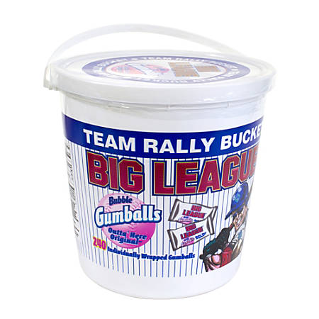 Big League Chew Team Bucket, Bucket Of 240 Pieces