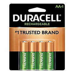 Duracell NiMH AA Rechargeable Batteries Pack