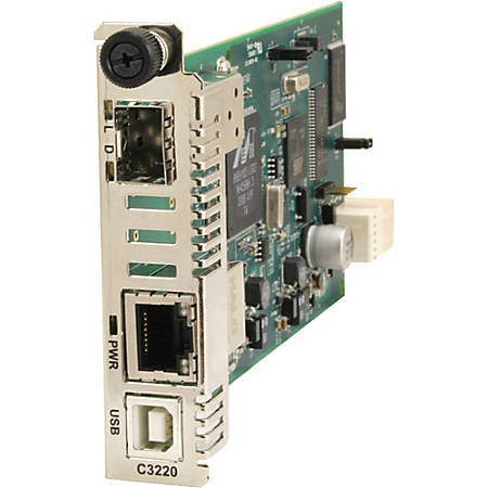 Transition Networks Fast Ethernet Media Converter 100BASE-TX to 100BASE-FX
