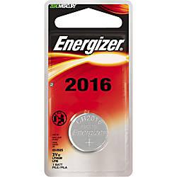 Energizer 2016 Keyless Entry Battery CR2016