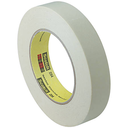 "Scotch® 234 General Purpose Masking Tape, 1"" x 60 Yd., Tan, Case Of 36"