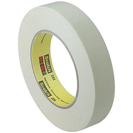 "Scotch® 234 General Purpose Masking Tape, 3/4"" x 60 Yd., Tan, Case Of 12"