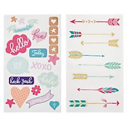 Divoga Sticker Sheets Conversational Assorted Designs