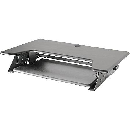 Kantek Sit-to-Stand Desk Riser, Black