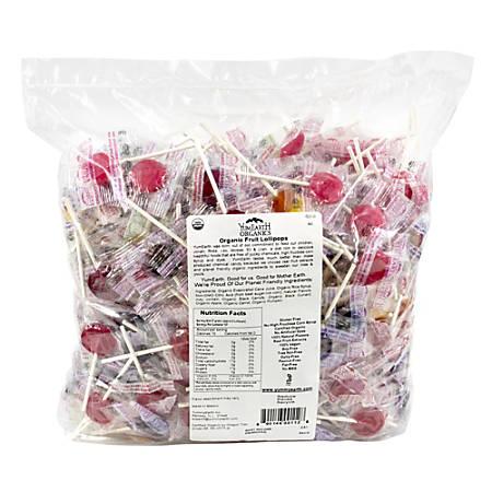 Yummy Earth Organic Fruit Lollipops, 5-Lb Bag Item # 242886