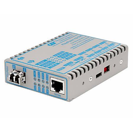 iConverter 10/100 Ethernet Fiber Media Converter RJ45 LC Multimode 5km Module - 1 x 10/100BASE-TX; 1 x 100BASE-FX; Internal Module; Lifetime Warranty