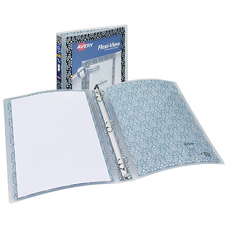 Avery Flexible View Binder With Round