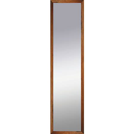 "PTM Images Framed Mirror, Shadowbox, 48""H x 12""W, Natural Brown"