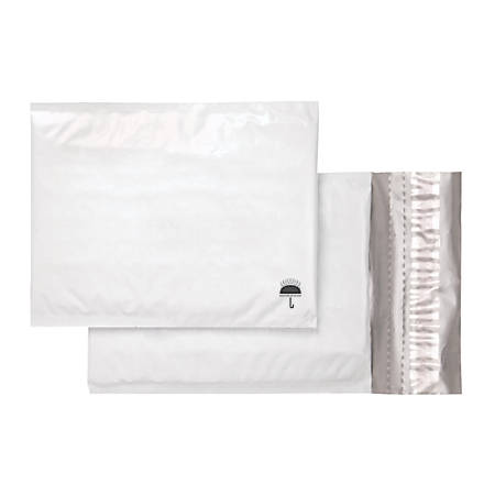 "Office Depot® Poly Bubble Mailer, Size #0, 6 1/2"" x 9"", White"