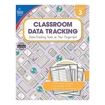 Carson-Dellosa Classroom Data Tracking Resource Book, Grade 3