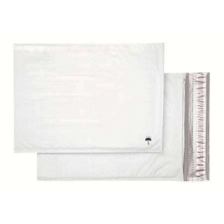 """Office Depot® Poly Bubble Mailer, Size #5, 10 1/2"""" x 15"""", White"""