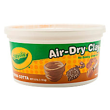 Crayola Air Dry Clay Terra Cotta