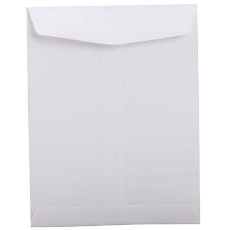 """JAM Paper® Open-End Catalog Envelopes, 8 3/4"""" x 11 1/4"""", White, Pack Of 25"""