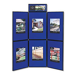 Quartet ShowIt 6 Panel Presentation System