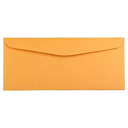 """JAM Paper® Booklet Commercial-Flap Envelopes With Gummed Closure, #14, 5"""" x 11 1/2"""", Manila Brown, Pack Of 25"""