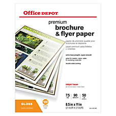 Office Depot Professional Brochure And Flyer