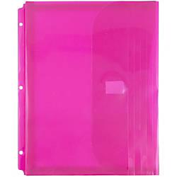 JAM Paper Plastic Binder Envelopes With