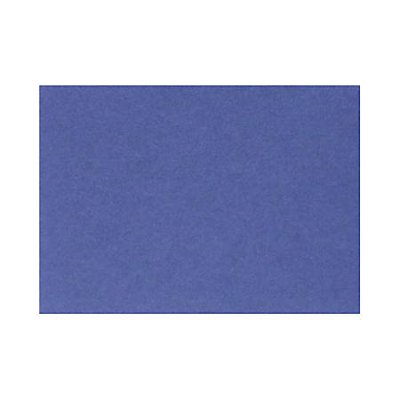 "LUX Flat Cards, A7, 5 1/8"" x 7"", Boardwalk Blue, Pack Of 50"