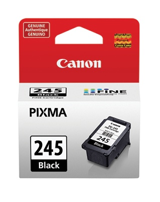 c3e5185a8 Print. Canon PG-245 Black Ink Cartridge. Use + and - keys to zoom in and  out, arrow keys move the zoomed portion of the image