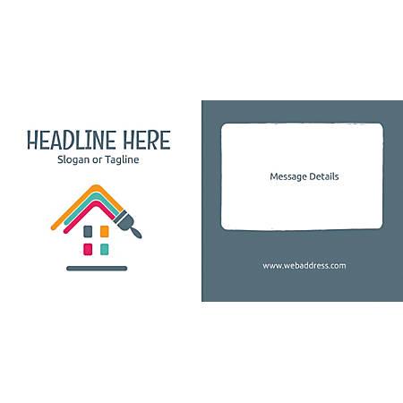 Custom Horizontal Banner, Paint House