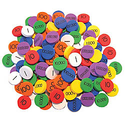 Essential Learning Products Place Value Disks