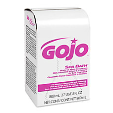 Gojo Spa Bath Body and Hair