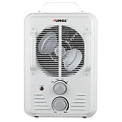 Lorell Portable Ceramic Heater Fan Ceramic