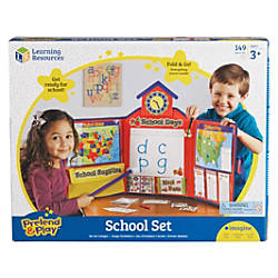 Learning Resources Pretend Play School Set