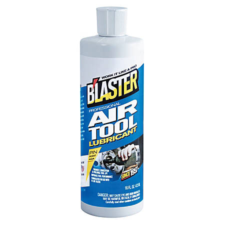 Blaster Air Tool Lubricants, 16 Oz Aerosol Can