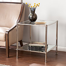 Southern Enterprises Paschall End Table Square