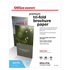 Office Depot Brand Double Sided Presentation