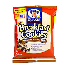 Quaker Breakfast Cookies Chocolate Chip Box
