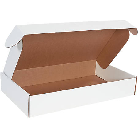 """Office Depot Brand Deluxe Literature Mailers 24"""" x 14"""" x 4"""", Pack of 25"""