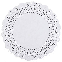 DOILIES LACE 6IN 10CT