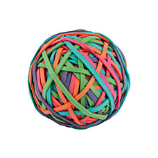 Office Depot Brand Rubber Band Ball
