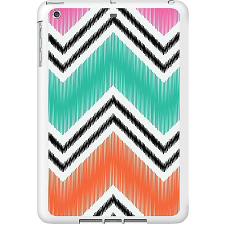 OTM iPad Air White Glossy Case Bold Collection, Pink