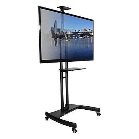 Kanto Mtm65 Plus Mobile Tv Mount By Office Depot Amp Officemax