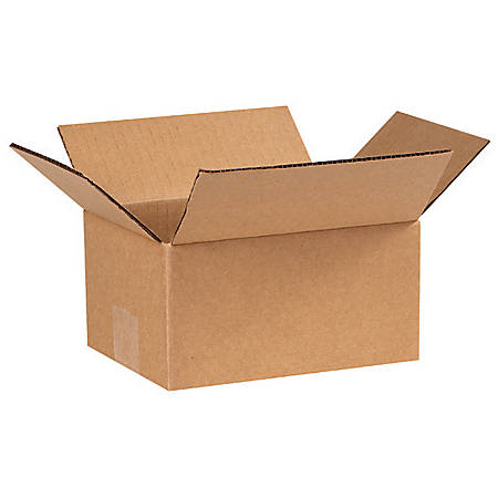 """Office Depot® Brand Corrugated Boxes 7"""" x 6"""" x 4"""", Bundle of 25"""