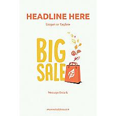 Custom Poster Big Sale Bag Vertical