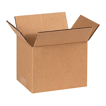 7in(L) x 6in(W) x 6in(D) - Corrugated Shipping Boxes