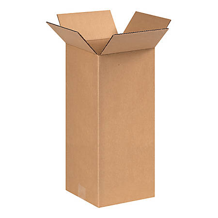8in(L) x 8in(W) x 17in(D) - Corrugated Shipping Boxes