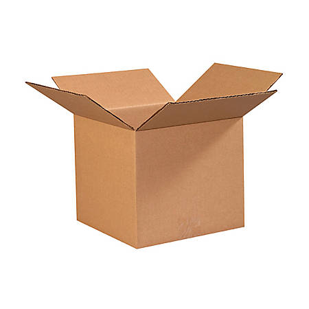 """Office Depot® Brand Corrugated Boxes 9"""" x 9"""" x 8"""", Bundle of 25"""